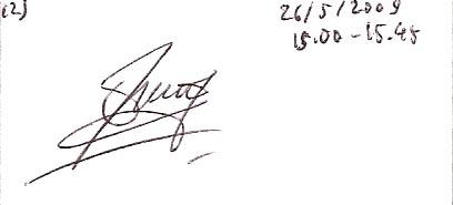 tanda tangan Irma Juniati